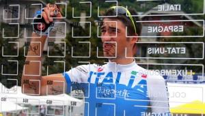 29/08/14 - St Gervais - La Rosiere (Fra) - 6th stage - Tour de l Avenir - Nations Cup Under 23 - km 108 -  nella foto: Gianni Moscon (Italia) al foglio firma © Riccardo Scanferla
