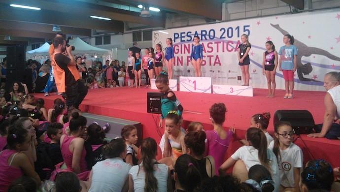 Ginnastica in Festa a Pesaro, ottimi risultati