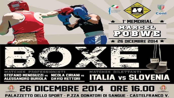 La grande boxe a Castelfranco Veneto