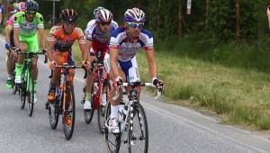 30/05/15 - Sestriere - 98 Giro d Italia - 20 Tappa -Saint Vincent Sestriere - Km 199 -  nella foto: Bandiera Marco -Ita- (Androni Giocattoli) in azione © Riccardo Scanferla