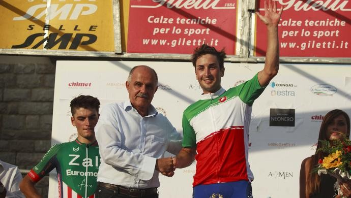 Gianluca Milani! En-plein tricolore per la Zalf!