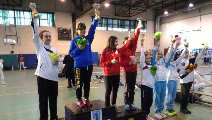 U14 Spada: quinto posto a Bologna per Chiara Bonin