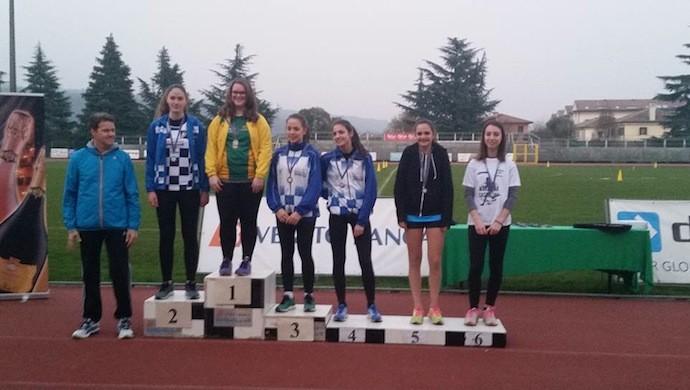 Atletica leggera: podi a Montebelluna per il Gruppo Atletica Vedelago