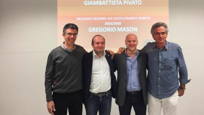 AIA Castelfranco: confermato il Presidente Pivato e nuove cariche