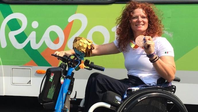 Immensa Francesca Porcellato: bronzo alle Paralimpiadi di Rio!