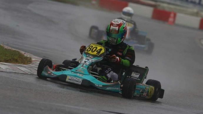 Karting: 8° posto a Lonato per il castellano Gianluca Sgorlon