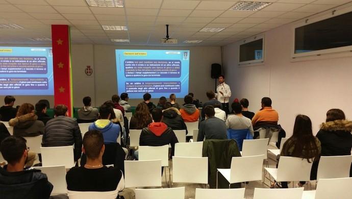 AIA Castelfranco Veneto: iniziato il corso arbitri 2016/17