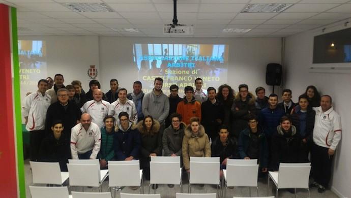 AIA Castelfranco Veneto: un caloroso benvenuto ai 27 nuovi arbitri