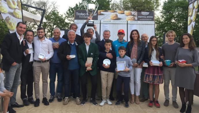 Filippo Crema vince il 10° Trofeo Master al Golf Club Cà Amata