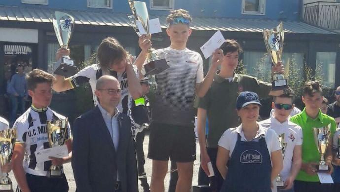 Ciclismo: UC Giorgione a podio, categorie Esordienti e Allievi