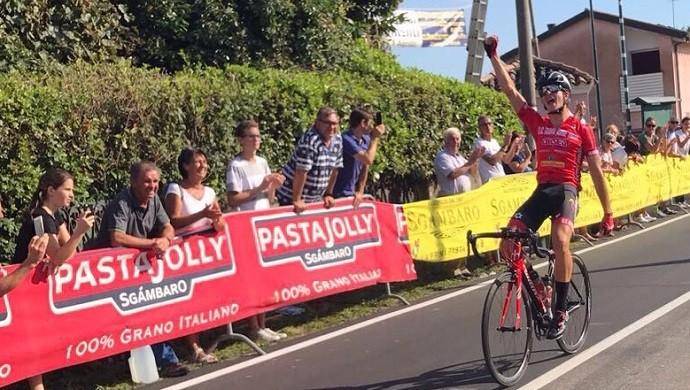 Matteo Zorzi torna al successo: vittoria a Ciano del Montello