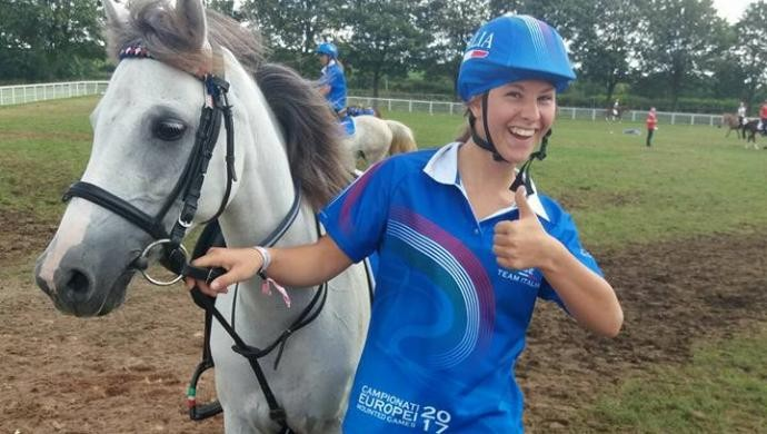 Europei Mounted Games U17: Elena Maggiolo al quarto posto