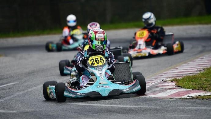 ACI Karting, il pilota castellano Gianluca Sgorlon campione del Triveneto