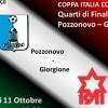Coppa Italia: i Quarti di Finale a Pozzonovo