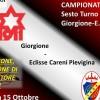 Nella sesta di campionato il Giorgione sfida l'Eclisse Careni Pievigina