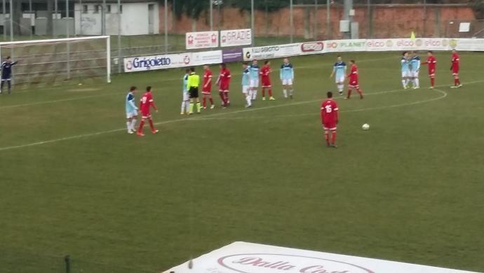 Giorgione Calcio battuto in casa dal Cornuda Crocetta