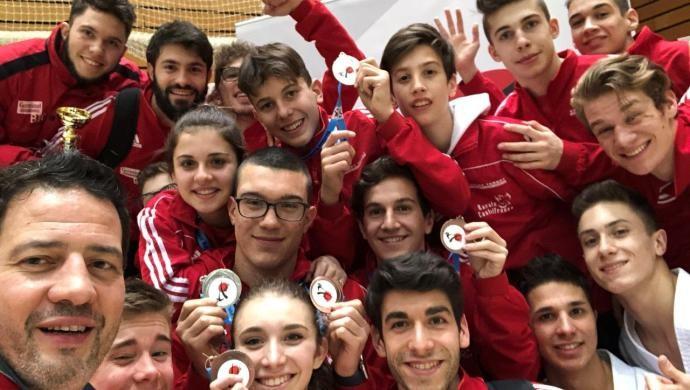 A Berlino il Germinal Karate Castelfranco fa bottino di medaglie