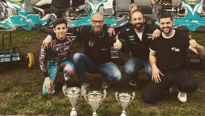 Il pilota castellano Gianluca Sgorlon annuncia il ritiro dalle competizioni