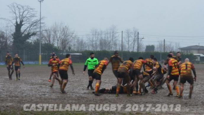 Un weekend piovoso per le squadre della Castellana Rugby
