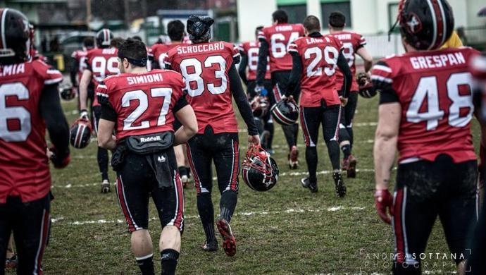 Football: riscatto per i Castelfranco Cavaliers sul campo di Isonzo