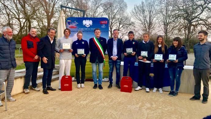 Repele e l'azzurra Zanusso vincono la 3^ Gara Città di Castelfranco