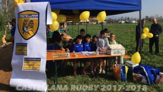 Castellana Rugby, weekend in campo e alla manifestazione Idee per Volare