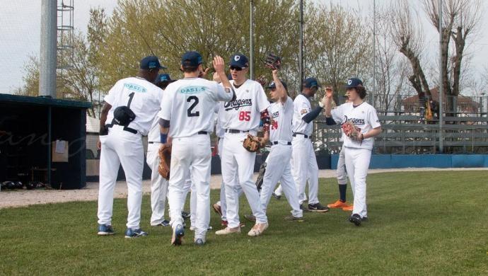 Baseball: delusione friulana per i Dragons Castelfranco