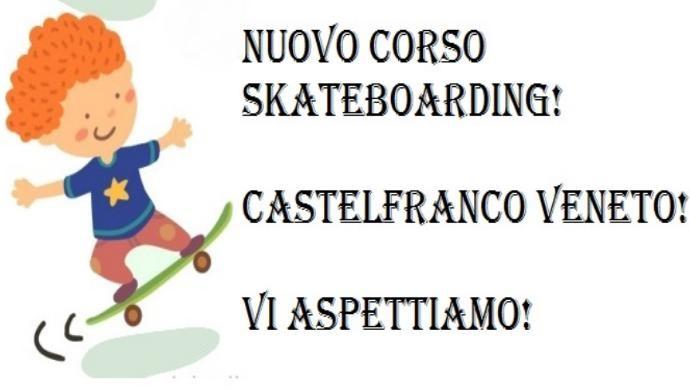 Primo corso di Skateboarding a Castelfranco Veneto