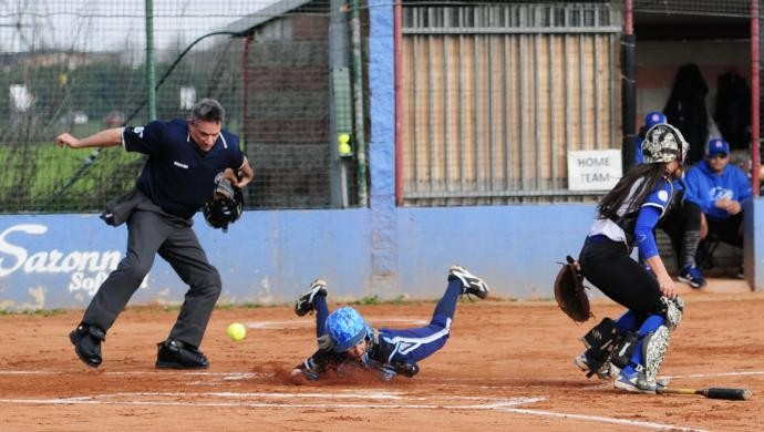 Softball: parità per l'esordio in Coppa Italia delle Metalco Thunders di A1