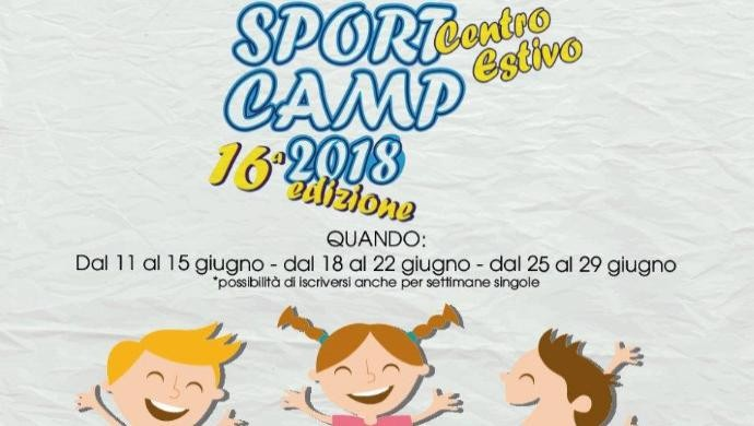 Aperte le iscrizioni per lo SportCamp 2018 a Castelfranco
