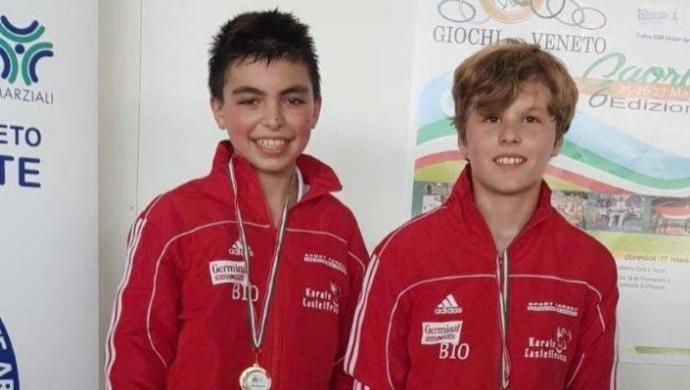 Tris di medaglie al Trofeo CONI per il Germinal Karate Castelfranco