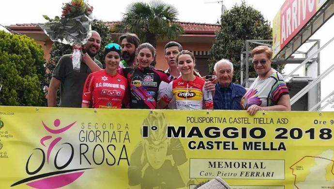 Ciclismo: la rosa Giorgione sfiora la prima vittoria stagionale