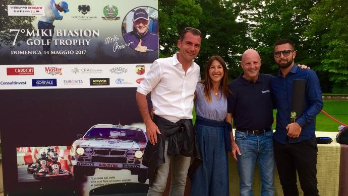 Torna sabato al Golf Club Ca' Amata l'8° Miki Biasion Golf Trophy