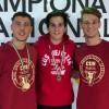 Germinal Karate Castelfranco oro e bronzo ai campionati italiani universitari