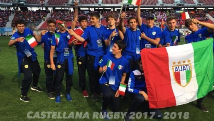 Castellana Rugby: U18 e U16 a Klagenfurt per gli United World Games