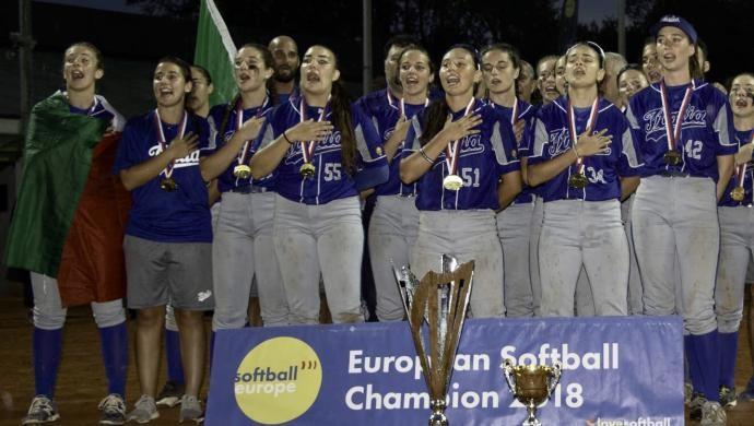 Sofia Fabbian con il Softball nel sangue Campionessa d'Europa U19