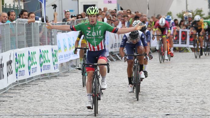 Giro del Friuli: tappa e maglia per Alberto Dainese della Zalf