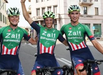 Ciclismo: Giovanni Lonardi suona la nona per la Zalf a Parabiago