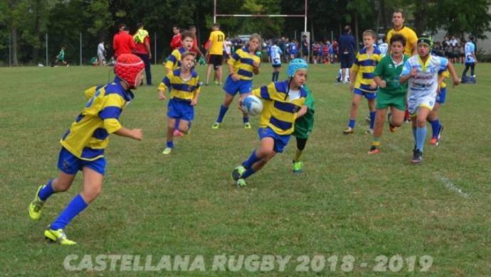 Castellana Rugby: il resoconto delle partite del giovanile e minirugby