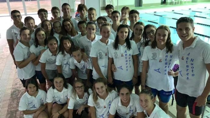 Antares Nuoto Castelfranco protagonista a Duel in the Pool 2018
