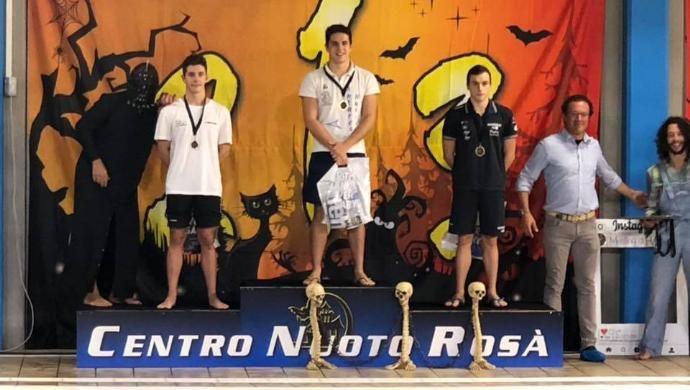Buoni risultati per l'Antares Nuoto Castelfranco al Meeting di Halloween