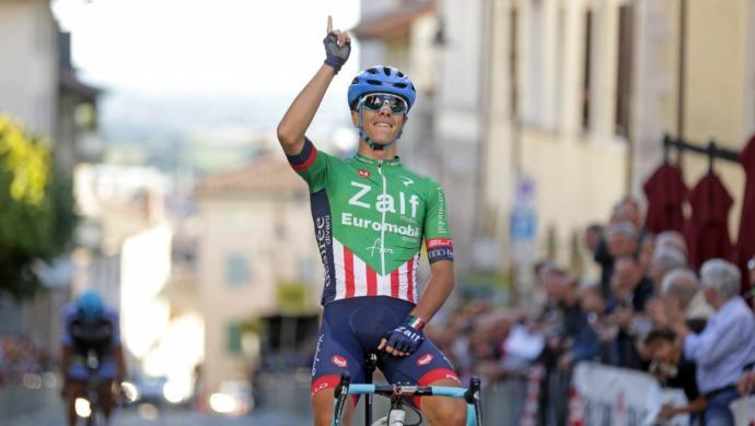 Ciclismo: Samuele Battistella della Zalf firma il ritorno a San Daniele