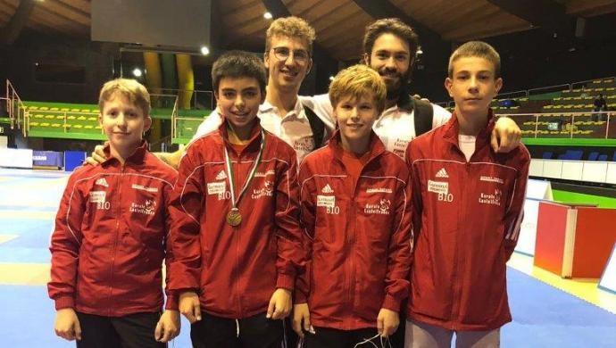 Germinal Karate Castelfranco: Alessandro Conte è bronzo ai campionati italiani