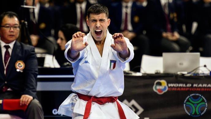 Mondiali di Karate: Mattia Busato in finale per il Bronzo