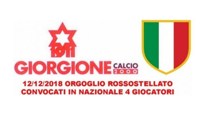Orgoglio Giorgione: quattro atleti convocati in Nazionale Dilettanti