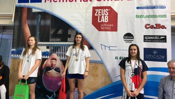 Antares Nuoto, il 2019 si apre con bei risultati al 22° Memorial Chiara Giavi