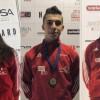 Tris di medaglie alla Austria Champions Cup per il Germinal Karate Castelfranco