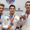 Germinal Sport Target Castelfranco, bronzo azzurro per Pietro Binotto