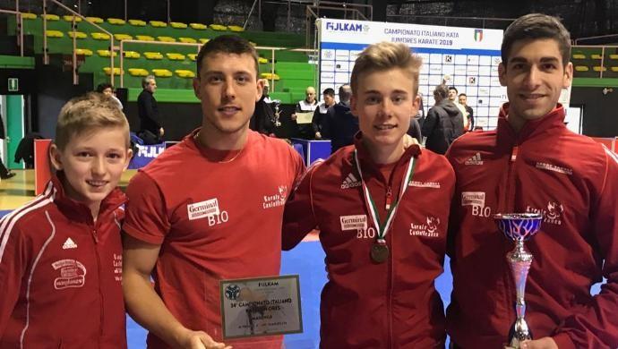 Campionati Italiani di Kata juniores, Pietro Binotto si riconferma di bronzo