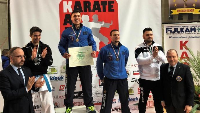 Karate: Mattia Busato per la quinta volta Campione d'Italia Assoluto!